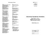 2004-03-31 University Symphony Orchestra [recital program]