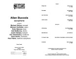 2004-04-19 Buccola [recital program]