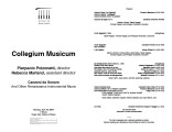 2004-04-19 Collegium Musicum [recital program]