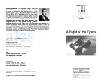 2003-09-25 A Night At The Opera [recital program]