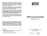 2003-10-06 UNCG Jazz Ensemble [recital program]