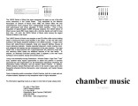 2003-10-25 Chamber Music for Winds [recital program]