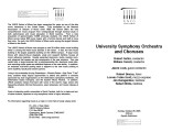 2003-10-26 University Symphont Orchestra and Choruses [recital program]