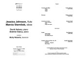 2003-11-15 Johnson Sternlieb Asbury Dancy [recital program]