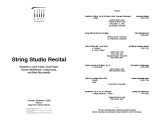 2003-12-04 String Studio [recital program]