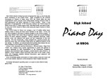 2002-02-02 High School Piano Day [recital programs]