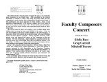 2002-02-12 Faculty Composers [recital programs]