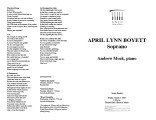 2002-03-01 Boyett Mock [recital programs]