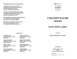 2002-03-19 Walsh Moore [recital programs]