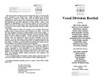 2002-04-15 Vocal Division [recital programs]