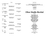 2002-04-18 Oboe Studio [recital programs]