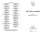 2002-04-23 Calissi [recital programs]