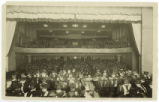 Commencement in Aycock Auditorium