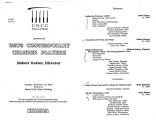 2000-11-19 UNCG Contemporary Chamber Players [recital program]