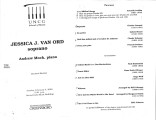 2000-02-06 Van Ord Mock [recital program]