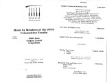 2000-02-08 Music by Members of the UNCG Composition Faculty Bass Carroll Walsh [recital program]