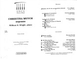 2000-02-23 Mutch Wright [recital program]