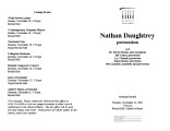 2001-11-13 Daughtrey [recital programs]