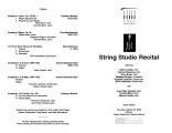 2002-10-24 String Studio Recital [recital program]