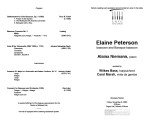 2002-11-08 Peterson Niemann [recital program]