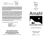 2002-11-15 Amahl and the Night Visitors [recital program]