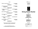 2002-12-04 String Studio Recital [recital program]