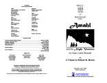 2004-11-19 Amahl and the Night Visitors [recital program]