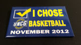 [UNCG basketball button, 2012]