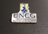 [School of Business pin]