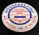 "[""National Housekeepers Week"" button]"