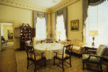 Byrd parlor located inside the Alumni House