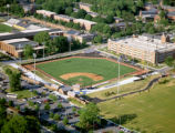 [Aerial view of Baseball Stadium]
