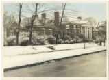 Alumnae House in the snow