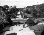 [College Avenue from Curry Building]