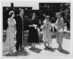 [Dignitaries at Commencement Home (North Elm Street)  Opening]