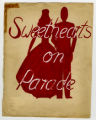 "[Student dance scrapbooks: Sophomore Class Formal,""Sweethearts on Parade,"" 1946]"
