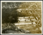 [Aerial photograph of campus area, North Carolina College for Women]