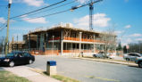 [Construction of Gatewood Studio Arts Building]