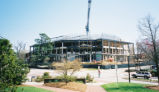 Construction of Moore Humanities and Research Administration Building