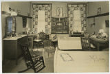 [Decorated Dorm Room, circa 1931]