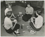 [Students Playing Cards, 1953]