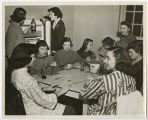 [Eight Students Playing Cards, 1953]