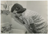 [Student Brushing Teeth, Mid-1950s]