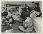 [Card game in Dorm Room, 1965]