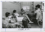 [Students Lounging in a Dorm, 1967]