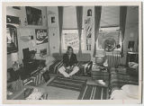 [Student in Dorm Room, 1974]