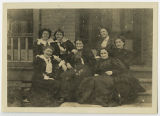 [Group photo on Campus, Early 1890s]