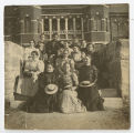 [Group Photo in Front of Main Building, 1900s]