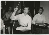 [Asking a Question in Class, 1955]