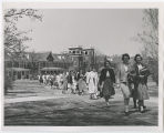 [Students on Campus, 1961]